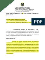 contestação exercício anterior - adimplemento de um dos valores - MARIA DO CARMO x UFPE - 0818203-63.2019.4.05.8300.docx