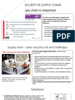 Cyber Secrity in Supply Chain