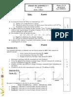 Devoir de Contrôle N°1(AVec correction) - Physique - 2ème TI (2010-2011) Mr Abdessatar.pdf
