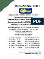 Leadership Assigment