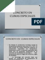 CONCRETO EN CLIMAS FRIOS