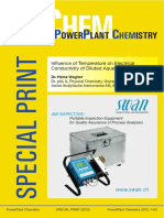 Powerplant chemistry