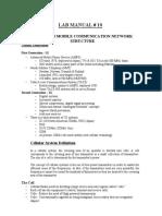 Lab Manual 10