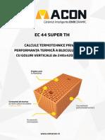 Studiu Termotehnic 44 Super Th 52714