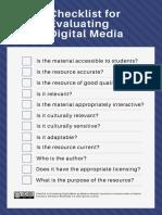 digital media checklist-revised