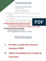 2.2- Contribution de La Grh Dans Formulation Strategie 22-10-2013 (19 Diapos)