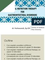 Dr. Nurhasanah, Sp.gk-terapi Gizi Pada Gangguan Saluran Cerna