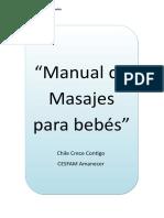 Manual de Masajes Para Bebés