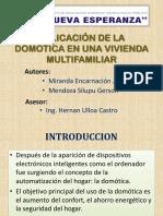 Aplicación de La Domotica en Una Vivienda Multifamiliar (1)