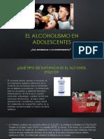 El Alcoholismo en Adolescentes