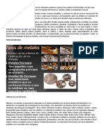 Concepto de Metales