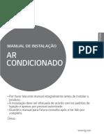 Ar condicionado LG Manual MPFL