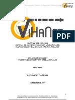 Manual Vihanet Trámite Conductas Operacionales Etapa 1