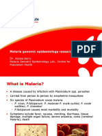 Malaria Genomic Epidemiology_Dr Alyssa Barry Oct 2010