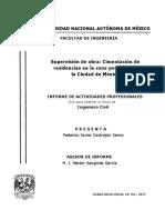 Informe Supervisión Cimentación Residencias FJCS