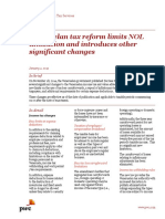 Pwc Venezuelan Tax Reform Limits Nol Utilization
