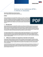 Electrical Interferences in SFRA Measurements Article 2016 ESP