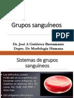 GRUPOS SANGUINEOS 2019
