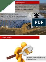CÁLCULO Y ELABORACIÓN DE LOS DISCOS DE IRRADIACIÓN SOLAR