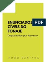 Enunciados Do FONAJE Organizados Por Assunto
