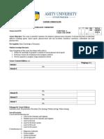 Pharmaceutical Inorganic Chemistry – Practical