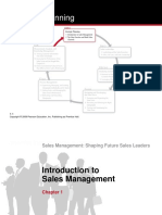 Chap 1 - Introduction to Sales Management