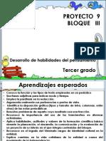 3º.bloque III. Proyecto 9
