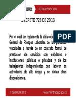 decreto 723 de 2013