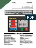 DKG317- Manual de Usuarios