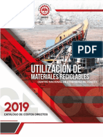 Materiales Reciclables 2019