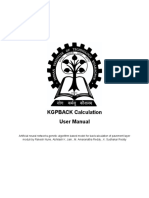 Kgpback Manual