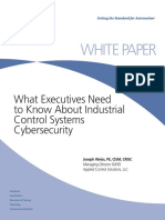 ISA WP Executives-Cybersecurity