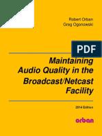 Calidad de audio en radio - Orban