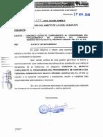 Cronograma de Contrato Administrativo 2020 Ugel Huancayo