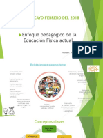 Enfoque Pedagógico de La Educación Fisica Callao 2017