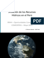 Presentación Del Sr. Juan Carlos Rivero Salcedo