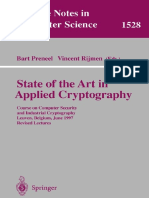 1998 Book StateOfTheArtInAppliedCryptogr