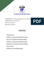 international debt problem.docx