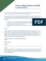 Manual de Codigos HTLM