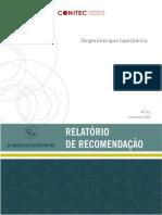 Relatorio Oxigenoterapia Hiperbarica PeDiabetico