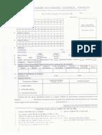 Vocational Reg Exam Form