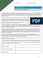 Candidate Declaration