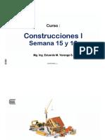 Seman 15 y 16 - Construcciones 1- Ley de Contrataciones Del Estado -Eys-uc