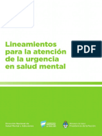urgencia salud mental