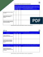 Lista de Chequeo Reglamento de Evaluacion (Basado Decreto 67)