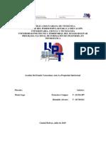 Gestión de estado venezolano ante la propiedad intelectual.pdf