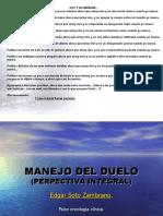 MANEJO DE DUELO