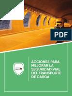 Acciones para mejorar la seguridad vial de carga