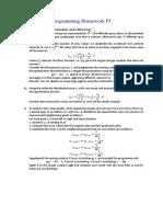Programming Homework P1