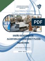 Ingenieria Sanitaria II Diseño de Alcantarillado Sanitario y Pluvial.pdf